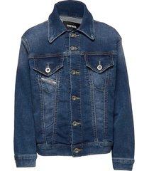 jwano jjj jacket outerwear jackets & coats denim & corduroy blauw diesel