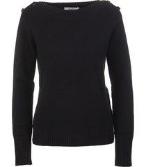 max mara black woman pelota sweater
