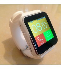 smartwatch reloj inteligente x6 android blanco