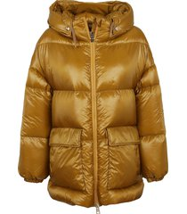 herno over nylon ultralight long jacket