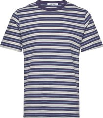 biferno t-shirt st 7913 t-shirts short-sleeved blå samsøe samsøe