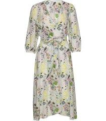 2nd harlow blissful jurk knielengte multi/patroon 2ndday