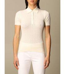 lauren ralph lauren polo shirt polo azuria lauren ralph lauren in cotton and modal knit