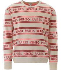 kenzo jacquard pullover