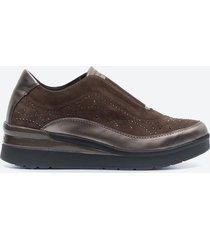zapatos casuales mujer stonefly z1a9 café