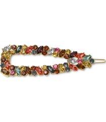 gemelli faith gold plated hair clip