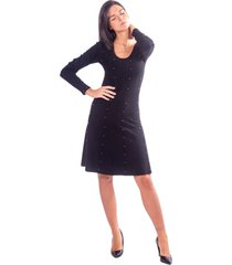 dress with strass fracomina - f220wd1004k11001