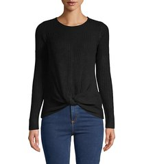 ribbed twist-knot top