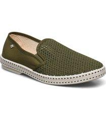 ri classic 20 kaki loafers låga skor grön rivieras