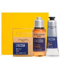 l'occitane presente corpo e barba l'occitan
