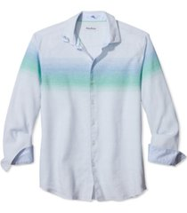tommy bahama men's horizon heights stretch engineered stripe shirt