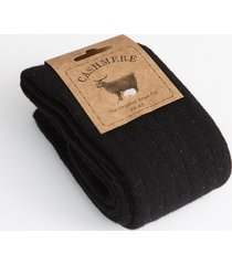 cashmere blend men's socks black