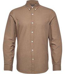 oxford sawsett overhemd casual bruin mads nørgaard