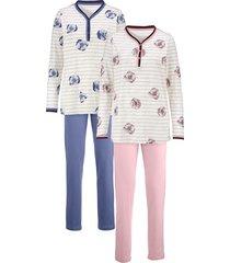 pyjama harmony poeder/rookblauw