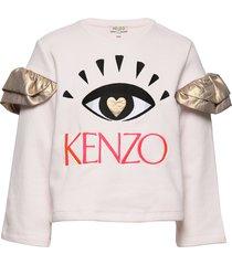 jiulia sweat-shirt trui roze kenzo