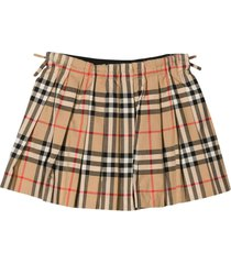 burberry vintage check skirt