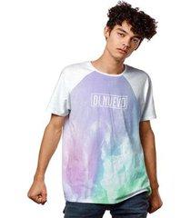camiseta aurora boreal night fashion masculina - masculino