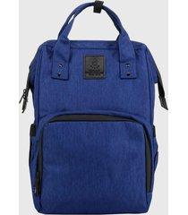 mochila maternal azul lilas carteras