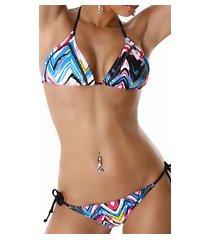 bikini blauw
