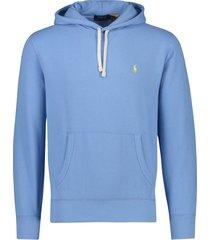 hoodie lichtblauw ralph lauren