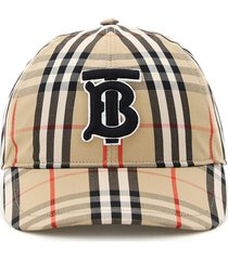 burberry check baseball cap tb