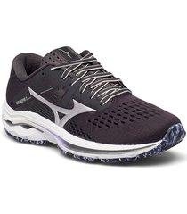 wave inspire 17 shoes sport shoes running shoes svart mizuno
