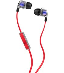 audifonos skullcandy smokin buds 2 spaced out/clear/blk