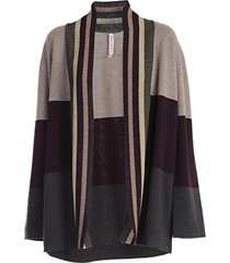 antonio marras stripe detail cardigan