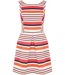korte kleurrijke jurk
