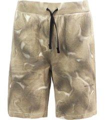 1017 alyx 9sm beige cotton shorts