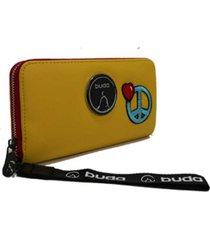 billetera amarilla buda paz