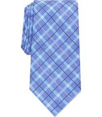 perry ellis men's loggan check tie