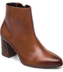 ankle boot shoes boots ankle boots ankle boot - heel brun gabor