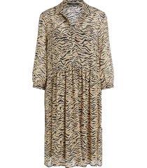 jurk met dierenprint holly  dierenprint