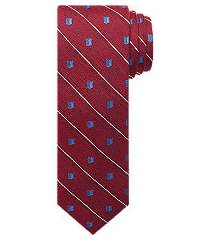 1905 collection shield & stripe tie - long clearance
