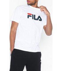fila classic pure ss t-shirts & linnen bright white