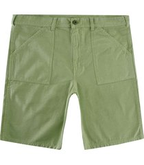 stan ray fat shorts cotton sateen | olive | sr0281-olv