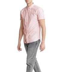 classic shoreditch print shirt-w