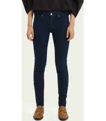 scotch & soda la bohemienne skinny jeans — pristine blue