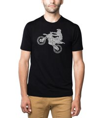 men's premium blend word art freestyle motocross fmx t-shirt