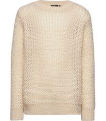 knit blouse stickad tröja vit petit by sofie schnoor