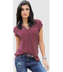 blouse alba moda bordeaux::rood