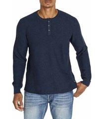 men's wamill long sleeve henley sweater