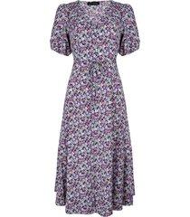 lofty manner dress myllena purple -light blue