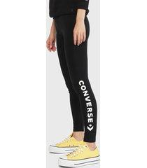 calza converse negro - calce ajustado