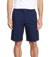 men's tommy bahama survivalist ripstop cargo shorts, size x-large - blue