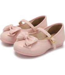baleta rosa kidy calcados bailarina