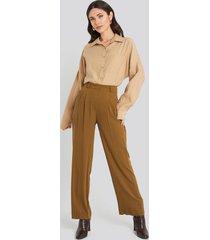beyyoglu palazzo pants - brown