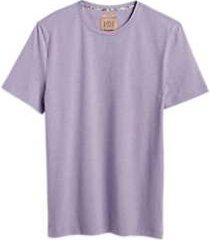 joe joseph abboud purple crew neck neck slim fit t-shirt