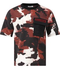 dolce & gabbana multicolor t-shirt for boy with logo